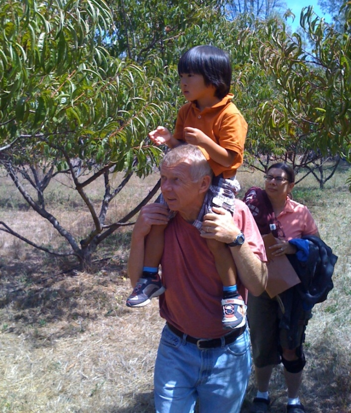 Touring the Peach Orchard